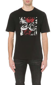 BLK DNM Peace rose t-shirt