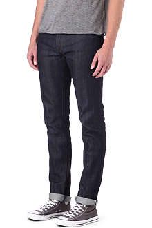 3X1 12oz stretch-selvedge slim-fit tapered jeans