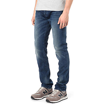 3X1 14oz Red Caste regular-fit tapered jeans (Collister