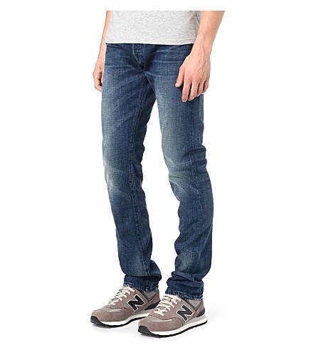 3X1 14oz Red Caste regular-fit tapered jeans (Collister