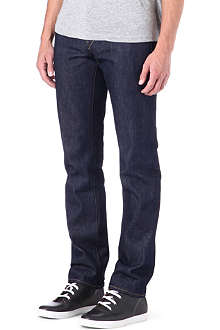 3X1 13.5oz selvedge slim-fit straight jeans