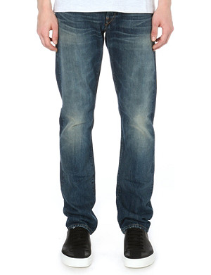 3X1 Red Caste regular-fit straight jeans