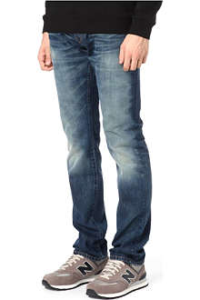 3X1 13oz Red Caste regular-fit tapered jeans