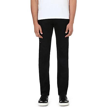 3X1 Slim-fit straight jeans (Black