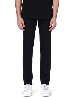 EVISU Slim-fit mid-rise skinny jeans