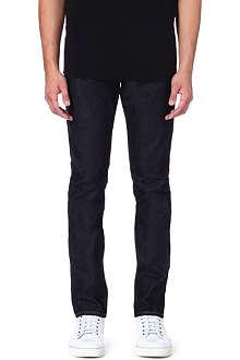 EVISU Slim-fit mid-rise carrot jeans