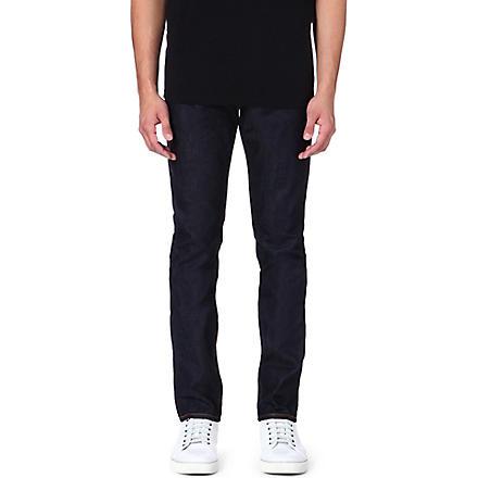 EVISU Slim-fit mid-rise carrot jeans (Indigo