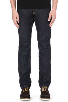 EVISU Regular-fit mid-rise jeans