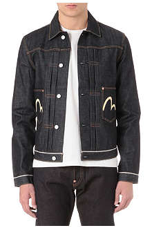 EVISU Two pocket 14oz denim jacket