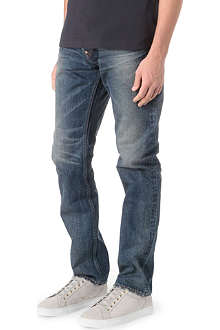 EVISU Regular-fit slim-carrot jeans