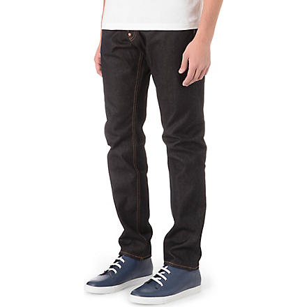 EVISU Regular-fit slim-carrot jeans (Indigo
