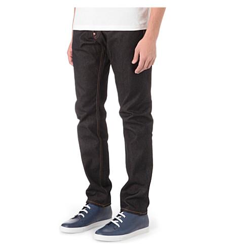EVISU Regular-fit slim-carrot jeans (Indigo
