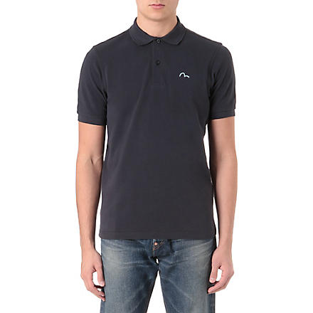 EVISU Logo polo shirt (Navy