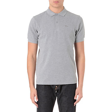 EVISU Logo polo shirt (Grey