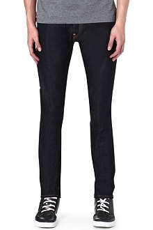EVISU Slim-fit tapered jeans