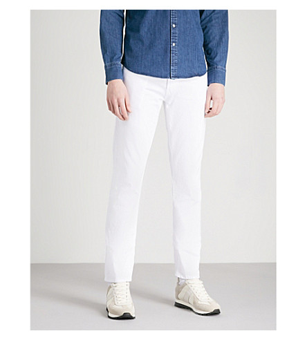 J BRAND Tyler slim-fit tapered jeans (Whitman
