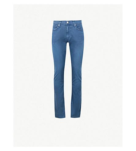 J BRAND Tyler slim-fit jeans (Beat+mizuna