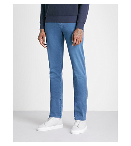 J BRAND Tyler slim-fit straight jeans (Beat+mizuna