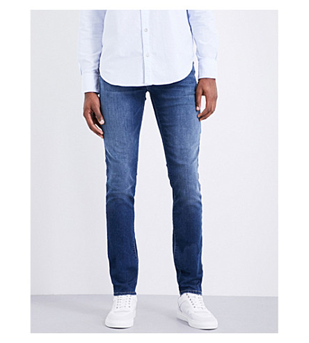 J BRAND Tyler slim-fit tapered jeans (Falling+star