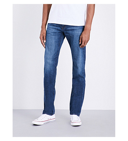 J BRAND Kane regular-fit straight jeans (Diran
