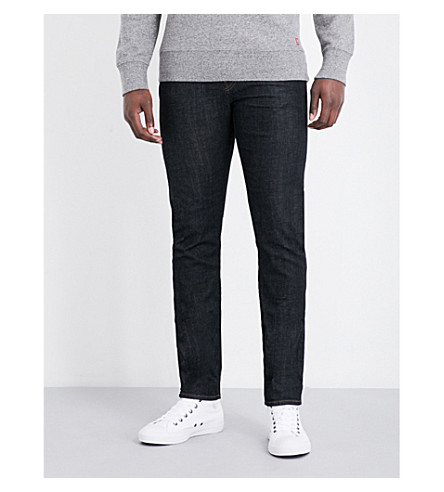 J BRAND Tyler slim-fit tapered jeans (Hood