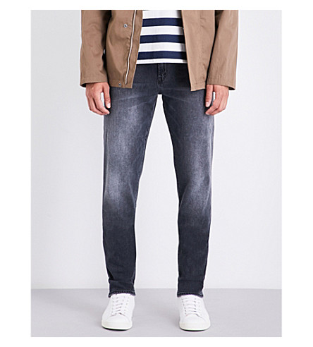 J BRAND Tyler tapered slim-fit mid-rise jeans (Sagitarii