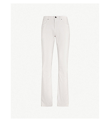 J BRAND Kane regular-fit straight jeans (Calcite