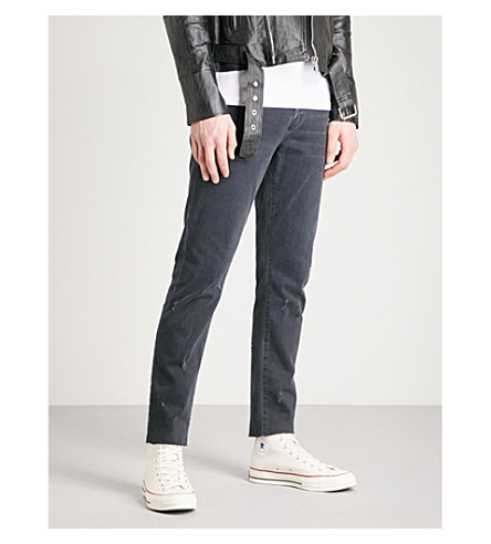 J BRAND Tyler slim-fit tapered jeans (Glauconite