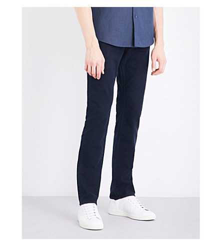 J BRAND Tyler slim tapered mid-rise jeans (Baron