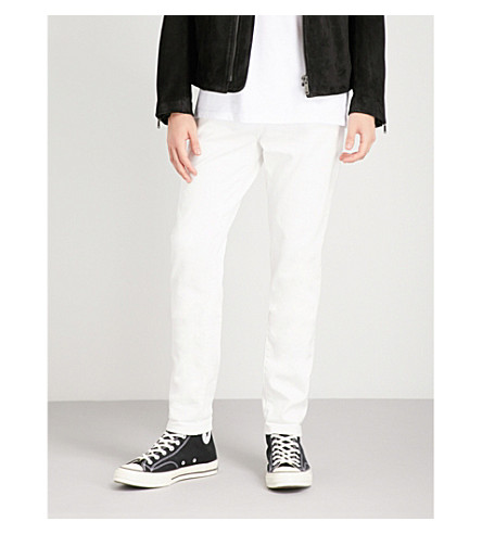J BRAND Tyler slim-fit tapered jeans (Absentis