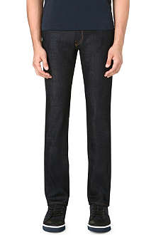 J BRAND Kane Raw straight jean