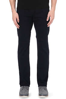 J BRAND Kane slim-fit straight leg twill trousers