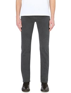 J BRAND Kane slim-fit straight leg twill trousers