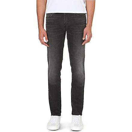 J BRAND Mick slim-fit skinny jeans (Black