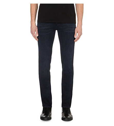 J BRAND Mick regular skinny-fit jeans (Indigo