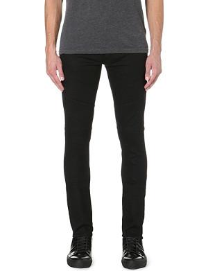 J BRAND Mick panelled slim-fit skinny jeans