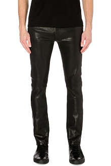 J BRAND Mick skinny leather trousers
