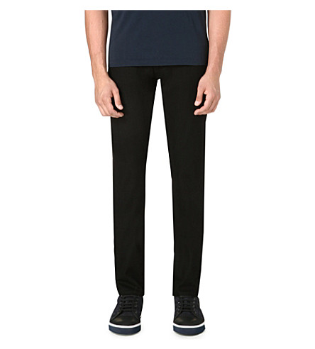 J BRAND Tyler slim stretch jean (Black