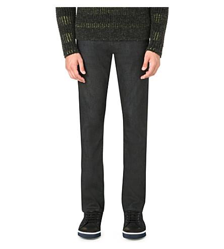 J BRAND Tyler slim grey washed jean (Grey