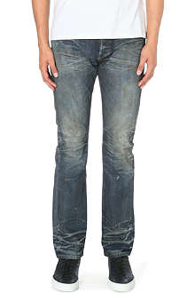 FABRIC BRAND Mace slim-fit straight jeans