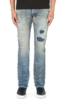 FABRIC BRAND Massa slim-fit straight jeans