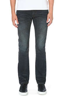FABRIC BRAND Maz slim-fit straight jeans