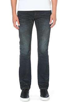 FABRIC BRAND Maz slim-fit straight jeans