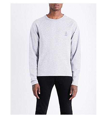 CHEAP MONDAY Rule 2 stretch-cotton sweatshirt (Grey+melange