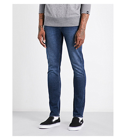 CHEAP MONDAY Sonic slim-fit tapered jeans (Sure+blue