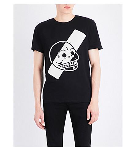 CHEAP MONDAY Standard Skull cotton T-shirt (Black