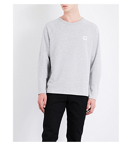 CHEAP MONDAY Rules 2 Sweat stretch-cotton sweatshirt (Warm+melange