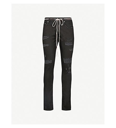 REPRESENT Repairer slim-fit skinny jeans (Black