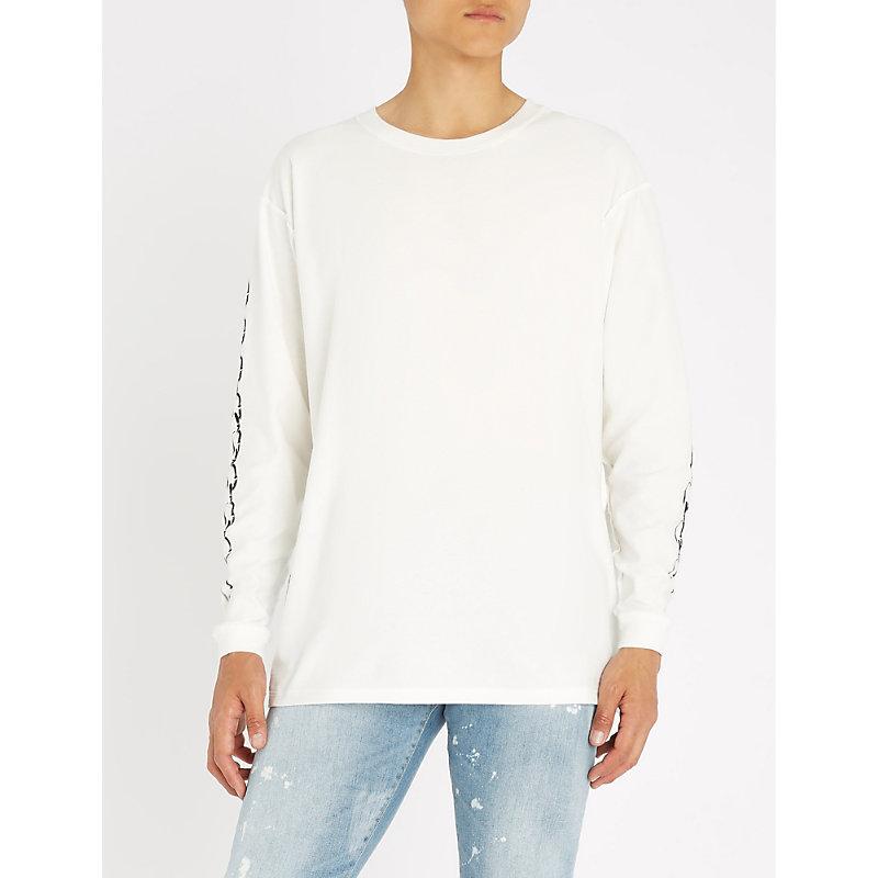 REPRESENT Represent Records cotton-jersey T-shirt