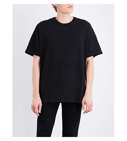 REPRESENT Flag cotton-jersey T-shirt (Black